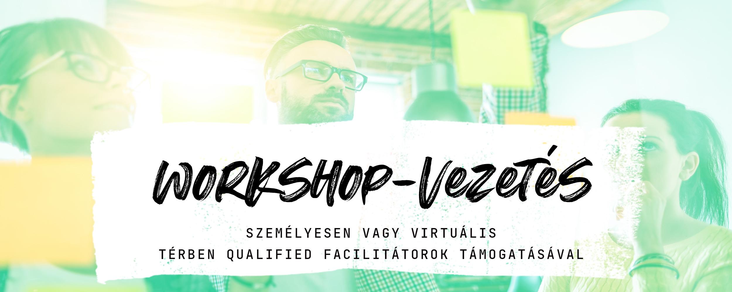 Workshop-vezetés