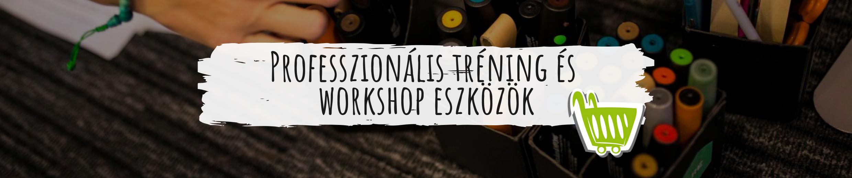Professzionális tréning és workshop eszközök